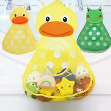 Baby Shower Storage Mesh with Strong Suction Cups Bag Net Bathroom Organizer For