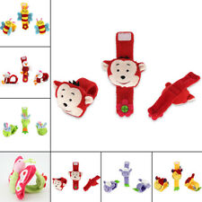 Animal Shape Hand Wrist Bell Rattles Toy Baby Foot Sock 1Pc Multi 14cm Reliable