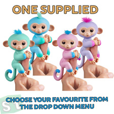 Fingerlings 2Tone Monkey Interactive Baby Pet - ONE SUPPLIED YOU CHOOSE