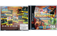 Sega Dreamcast SEGA Smash Pack Volume 1 Reproduction Artwork & Jewel Case