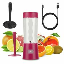 Portable Rechargeable USB Electric Blender,Mini Cup Fruit Juicer Smoothie Maker