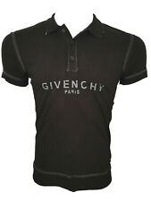 Brand New Bitten Logo GIVENCHY PARIS T-Shirt Tee Top Camiseta Cotton Black