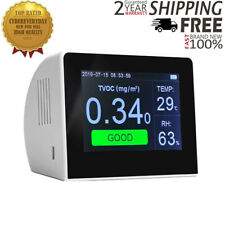 K6 Series Air Quality Monitor Detector w/3.5 Inch TFT Color Display