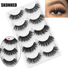 Multilayer Eye Lashes Extension 3D Faux Mink Hair Wispy Fluffy  False Eyelashes
