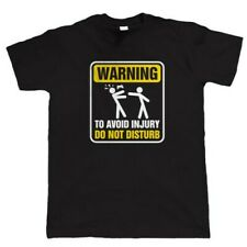 Warning To Avoid Injury Funny Gamer T Shirt - Video Game Gift for Him Dad