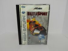 Battle Sport Force Sega Saturn - Unofficial Replacement manual, insert and case