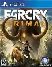 Far Cry Primal (Sony PlayStation 4, 2016)