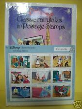 The Disney Classic Fairytales Postage Stamps & book