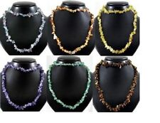 Natural Gemstone Chip Necklaces NEW Power Energy Stones