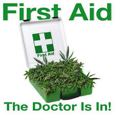 FIRST AID THE DOC IS IN GIFT T-SHIRT WEED MARIJUANA WO