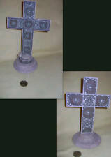 New~in box Sage Cross and Sage Cross Tea Light Holder