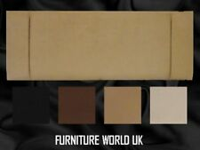 Oslo All Colours King Size Bed Headboard 5' Faux Suede
