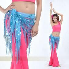 Shining Sequins Triangle BellyDance Hip Scarf 12 colors