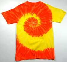 VIBRANT MULTICOLOR TIE DYE T-SHIRTS YOUTH & ADULT SIZES