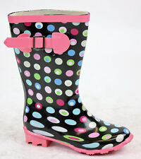 BOYS WELLIES WELLYS SNOW GIRLS WELLINGTONS  BOOTS SIZE
