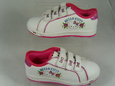 HELLO KITTY KIDS TRAINERS (ELLIE) WHITE/PINK