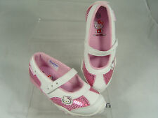 HELLO KITTY GIRLS TRAINERS (BAMBI) WHITE/PINK