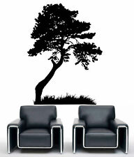 Large Tree Leaves Grass Decoration Wall art Mural Vinyl Decal Sticker #2