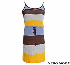 VERO MODA DAMEN KLEID LONG-TOP SHINE STRAP SHORT DRESS
