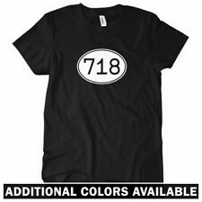 AREA CODE 718 Women's T-shirt - New York Brooklyn Queens NYC Staten Island S-2XL