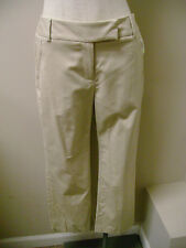 Charter Club Sand Classic Fit Cropped Pants  NWT $49