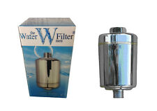 Shower Filter Inline Healthier Hair & Skin Water Filter Removes Chlorine & Lime