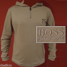 Hugo Boss Black Hooded French terry shirt Jacket Zip BM