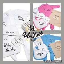 PERSONALISED essential CLOTHING kit for HOSPITAL BAG