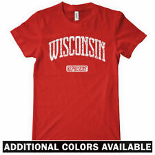 WISCONSIN REPRESENT Women's T-shirt - Milwaukee Madison Packers Green Bay S-2XL