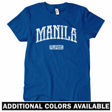 Manila Women's Tee - Philippines Pilipinas Filipino Pinoy Ladies Tshirt S to 2XL