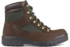 NEW MENS TIMBERLAND 6 INCH WATERPROOF FIELD BOOTS  [72510]  BROWN-GREEN