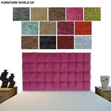 Monaco All Colours Bed Headboard Chenille All Sizes & Heights **SALE**