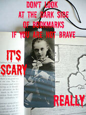 SCARY 3D Bookmarks Gothic/Halloween-4 designs avail.THEY'RE CHANGING AS YOU MOVE