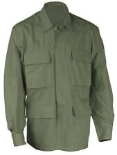 SHIRT BDU OLIVE GREEN 4 POCKETS MILITARY STYLE POLY/COTTON TWILL S,M,L,XL,2X,3X