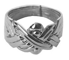 8-Band Sterling Silver Men's Puzzle Ring          #PR46