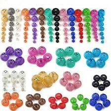 Free Ship Metal Tennis Large Mesh Bling Rondelle Ball Beads 16mm Pick Color