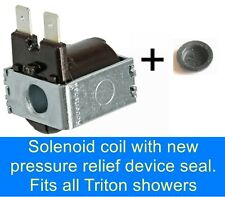 GAINSBOROUGH SOLENOID COIL ENERGY 1000  2000  2000X  ELECTRIC SHOWER NO WATER ??