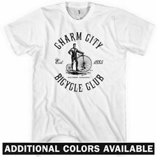 BALTIMORE BICYCLE CLUB T-shirt - Charm City B'more Cycling Bike Wire - XS-4XL