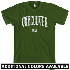 VANCOUVER T-shirt - Area Code 604 - BC Canada - XS-4XL