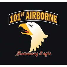 "NEW 101ST AIRBORNE T-SHIRT  ""SCREAMING EAGLE"" BEAUTIFUL GRAPHIC SM-3XL F63-971"