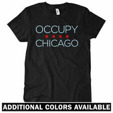 OCCUPY CHICAGO Women's T-shirt - Windy City Riot Wall Street Protest 99 - S-2XL