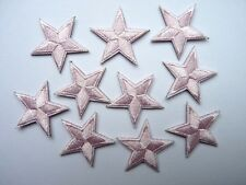 Star patches - various colours/quantities - iron on or sew on
