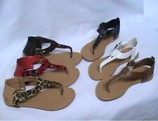 Girl Thong Sandals (Kalisa94) Dress Shoes Pageant Party Shoes