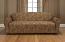 LEOPARD JERSEY SOFA STRETCH SLIPCOVER, COUCH COVER, CHAIR LOVESEAT SOFA RECLINER