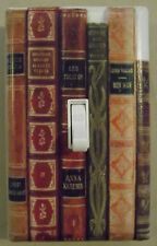 BOOKS OFFICE HOME DECOR SINGLE LIGHT SWITCH PLATE COVER