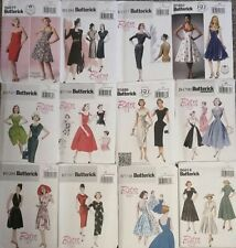 VINTAGE Style Retro Sewing Patterns Misses' 40's 50's & 60's -U PICK!-
