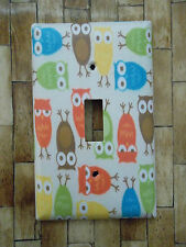 OWL LIGHT SWITCH PLATE COVER