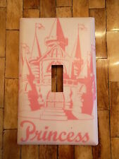 PRINCESS CASTLE BEDROOM DECOR LIGHT SWITCH PLATE COVER