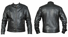 Mens Black Leather Jacket Fashion