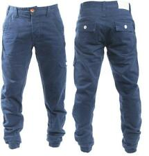 MENS NEW ETO 9901 DESIGNER EM208 BLUE CUFF JEANS *REDUCED BARGAIN SALE PRICE*